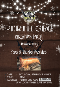 Perth GBG Xmas Party